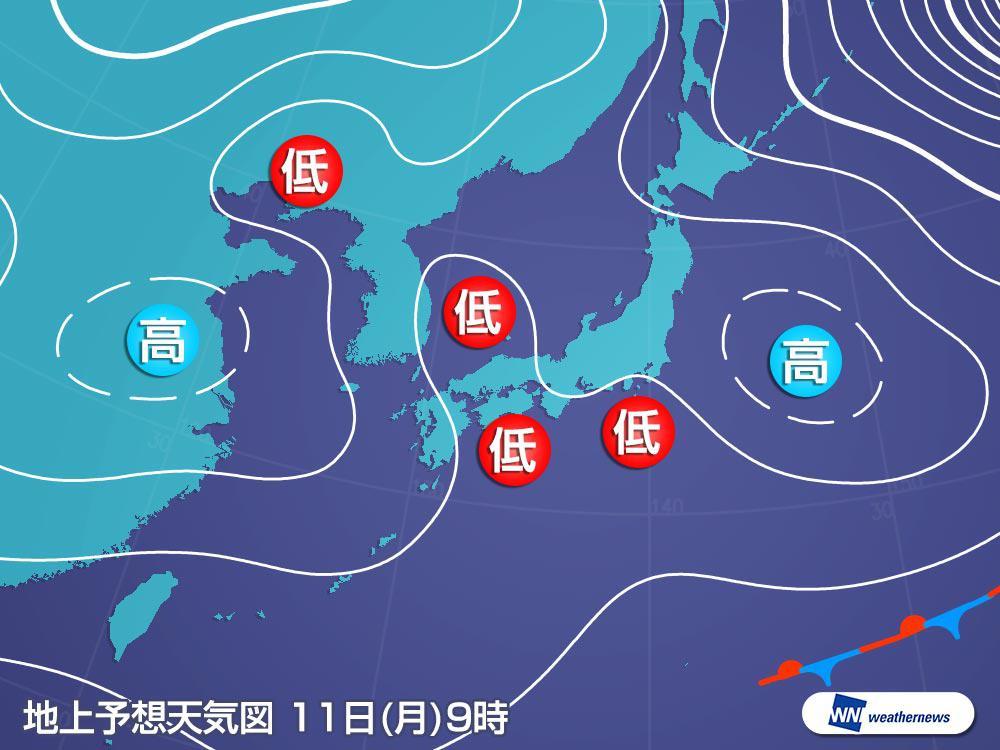 天気 2 週間 予報 東京 週間