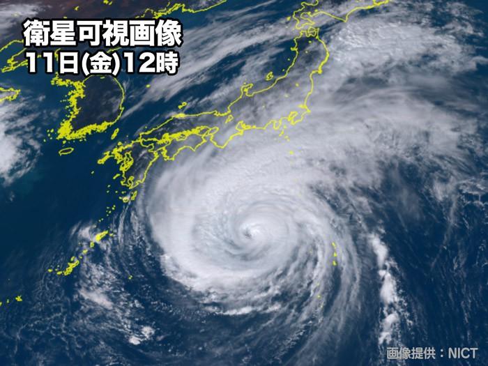台風19号 関東・東海で700mm近い大雨の危険 災害発生に厳重警戒