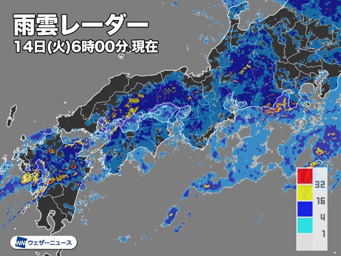 レーダー 福岡 市 雨雲