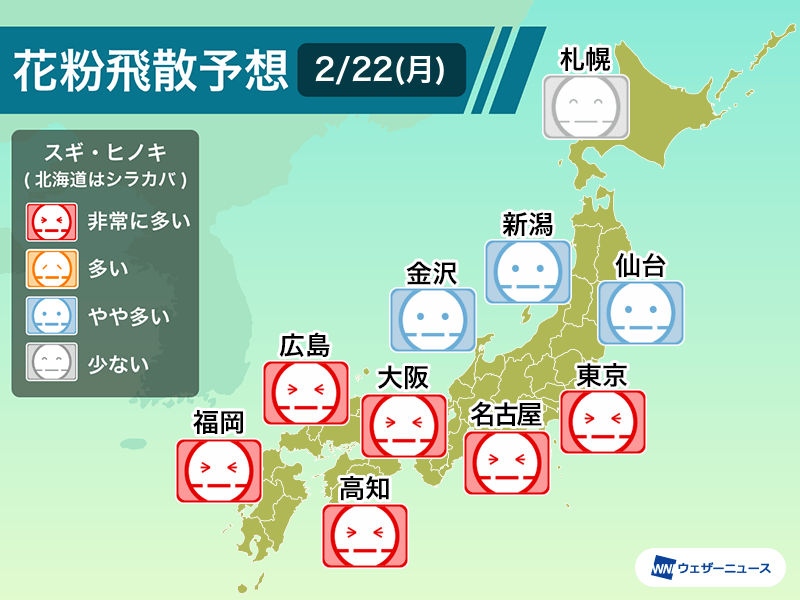 2 月 の 日 東京 夏