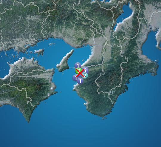 和歌山 地震 速報