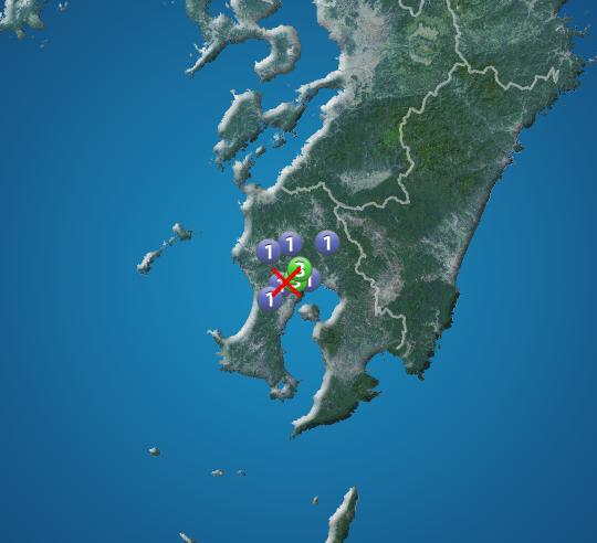 鹿児島県で震度3の地震発生 | ウェザーニュース